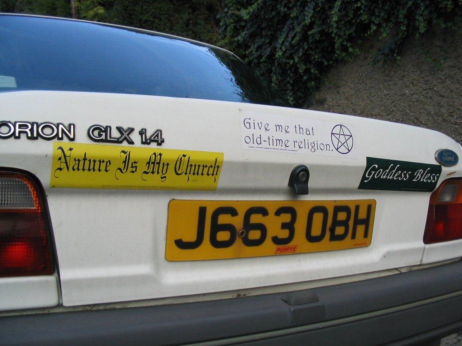Uk bumper stickers october 2006