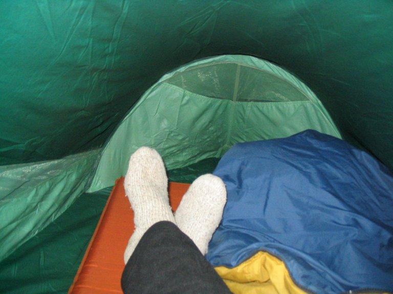 Roger J. Wendellu0027s Walrus Tent Near Winfield Colorado - 09-04-2005 & Camping by Roger J. Wendell