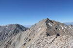 Montgomery Peak, California as seen from Boundary Peak, Nevada by Roger J. Wendell - 08-03-2011