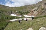 Whale Peak Colorado Mountain Club by Roger J. Wendell - 07-29-2011