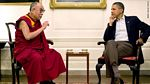 14th Dalai Lama with President Barack Obama at the White House 07-16-2011