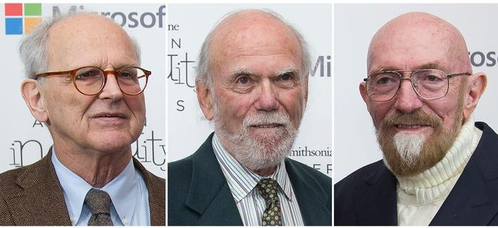 Rainer Weiss, Kip Thorne and Barry Barish - Nobel Prize - 2017
