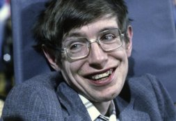 Stephen Hawkings at Princeton, New Jersey - 10-10-1979