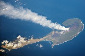 Pagan Island Photo by NASA