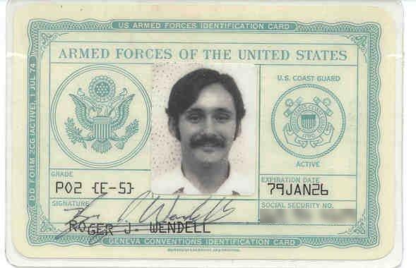 ID of RM2 Roger J. Wendell, Wahiawa, Hawaii - 02-10-1977