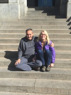 Roger and Chris at the Colorado State Capitol - 02-25-2017