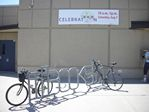 Books Bicycle Rack at the Belmar Library in Lakewood, Colorado by Roger J. Wendell - 08-14-2010
