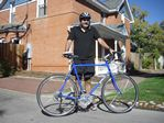 Test riding a Surly Long Haul Trucker from Full Cycle's Pearl Street store in Boulder, Colorado - 09-24-2010
