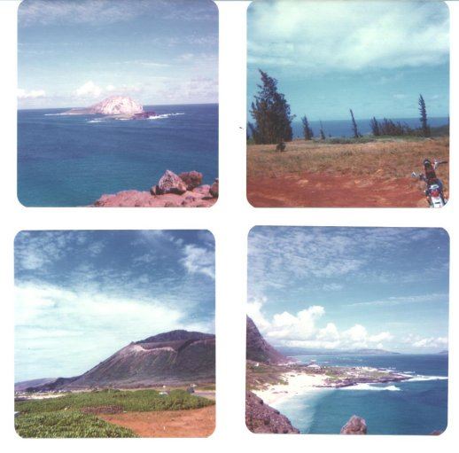 O'ahu, Hawai'i - February, 1976
