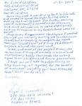 Letter to Richard Childress about Elk Hunting on ESPN - 11-21-2007