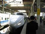 Bullet Train Coming In - May, 2004
