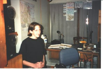 13 Year Old Amber at KGNU