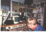 Roger J. Wendell visiting KBUT Community Radio - Carbondale, Colorado - April, 2002