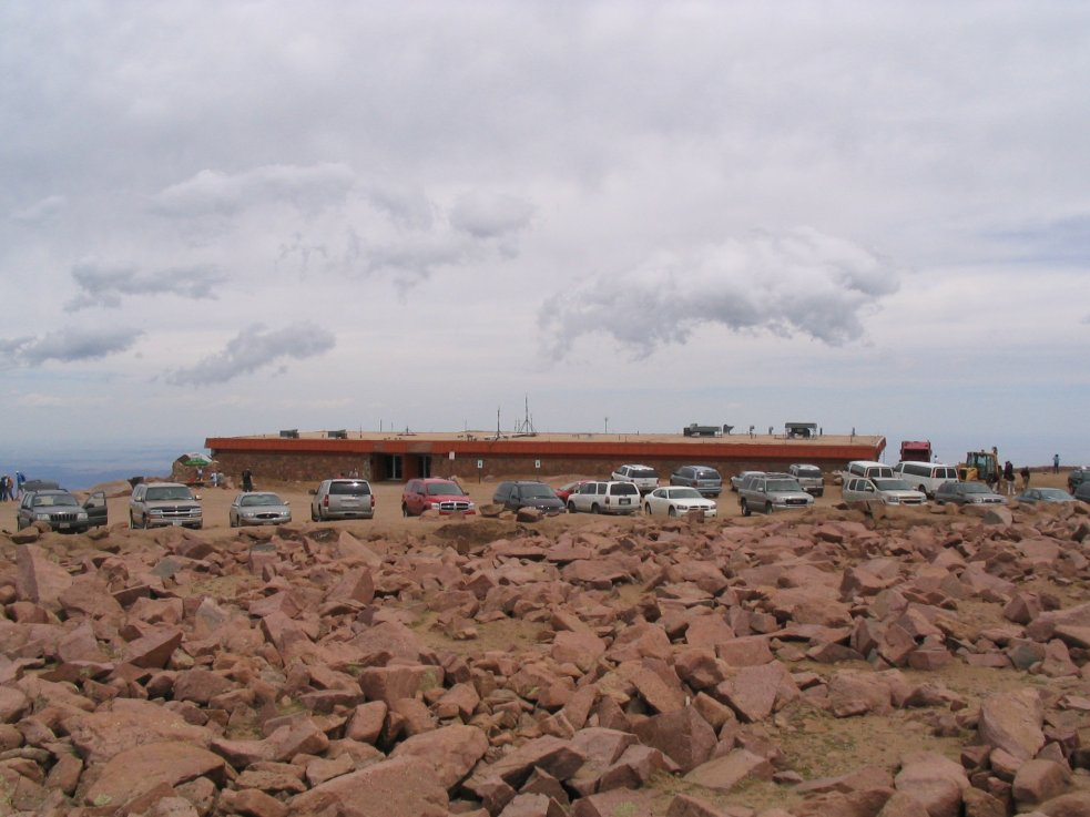 Pikes Peak Parking >> Out There Pike Peak National Monument Not So Much