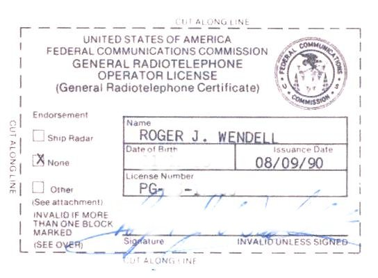 QRP Frequencies by Roger J. Wendell - WBØJNR (WB0JNR)