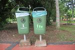 Recycing at Iguacu National Park, Brazil - 02-05-2011