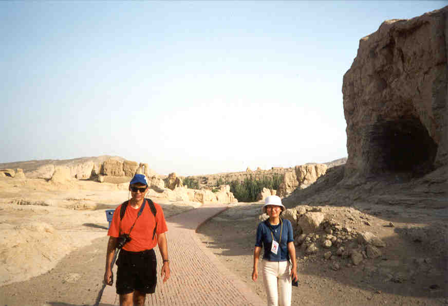 The Ancient City of Jiaohe on the Silk Road by Roger J. Wendell - June 2001