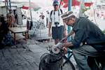 Xinjiang Uyghur Knife Craftsman and Randy Wendell - June 2001