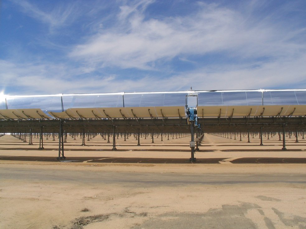 Solar Collecting Array, Boron, California 03-19-2004