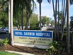 TMain Entrance to Royal Darwin Hospital, Australia - November, 2005