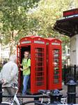 London Telephone Booth - October 2006