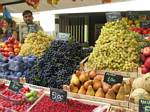 Grapes for sale in northern Italy by Rober J. Wendell - 09-08-2007
